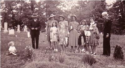 Will, Gladys, Betty, Liz, Vhasti, Jane, Jimmie, Margaret, Lois, Martha & John
