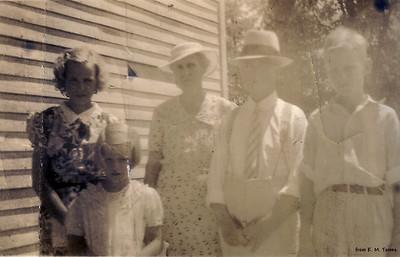 Kathryn, Jimmie, Verda, Will & David