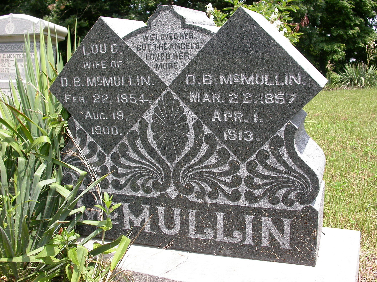 McMullin Cemetery, Parke County, Indiana.