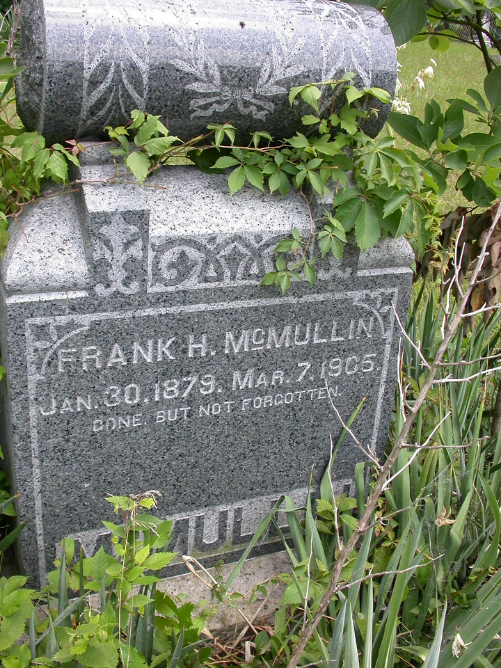 McMullin cemetery, Parke County, Indiana