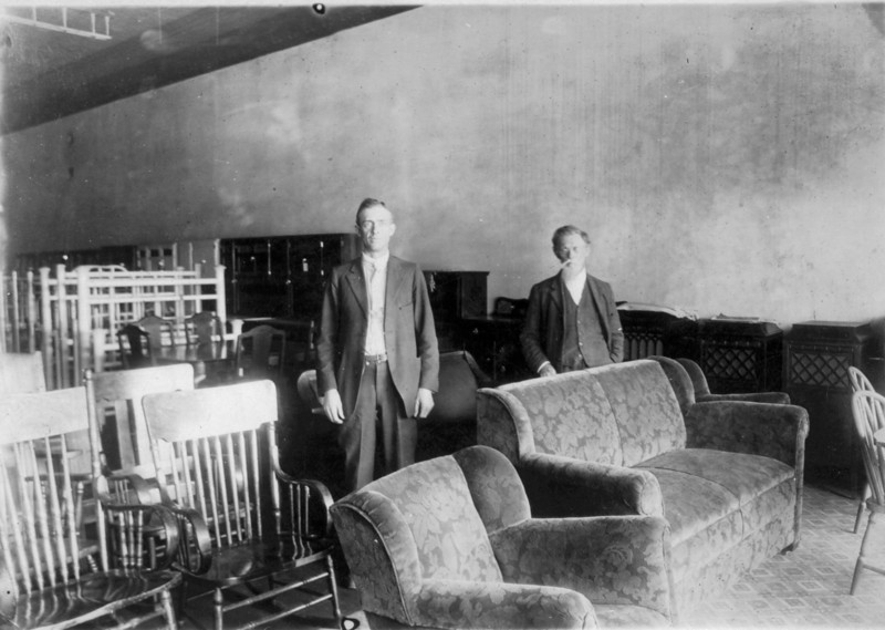 This picture is of Elmer Meaders and James T. Aston.