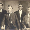Back of picture says David, Mack, Andrew and Postin about 1920. [i believe that Postin and Andrew are in the back line and David and Mack are in the front line - correspondes to other pictures]