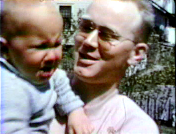 1946 3738 Jackson Street, Sioux City, IA Morrie with baby Miles