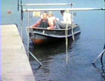 1961 Bayview Resort, Alexandria. MN Pulling into dock.