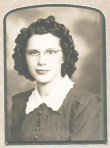 Opal Karner Anderson - Graduation Picture 1940