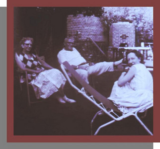 Aunt Effie, Uncle Bill and Josephine Effie is Edith Heilman's sister