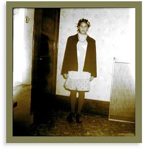 Freshman Initiation for Gail in Loomis, Nebraska