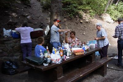 Picnic at Millcreek Canyon
