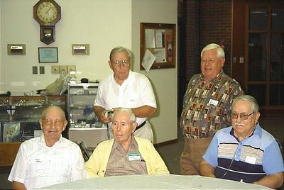 Standing L-R Bill and Ronnie Anderson Seated L-R Warren, Joyce and Lee Anderson