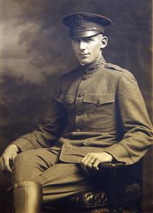 Captain Clarence Beryl Werts circa 1920.