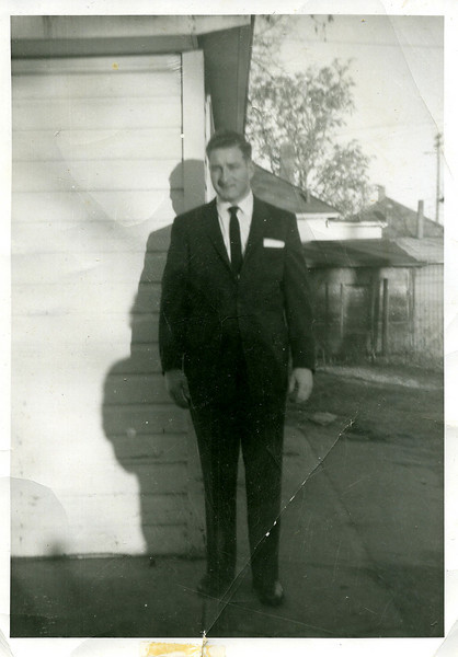 Dad, James Morgan.