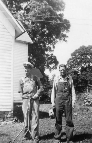 Jess & John Morgan. 1950.