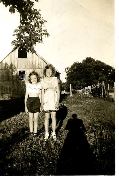 Carol Ann & Beverly Sue 1953.