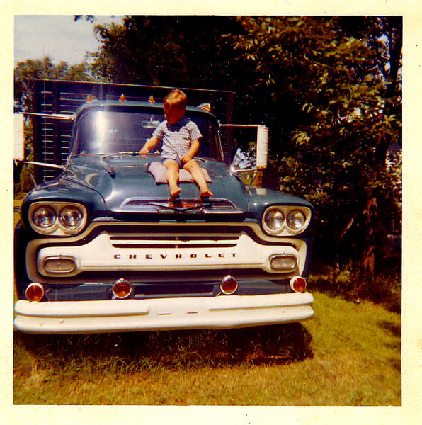 Donnie and dads truck.