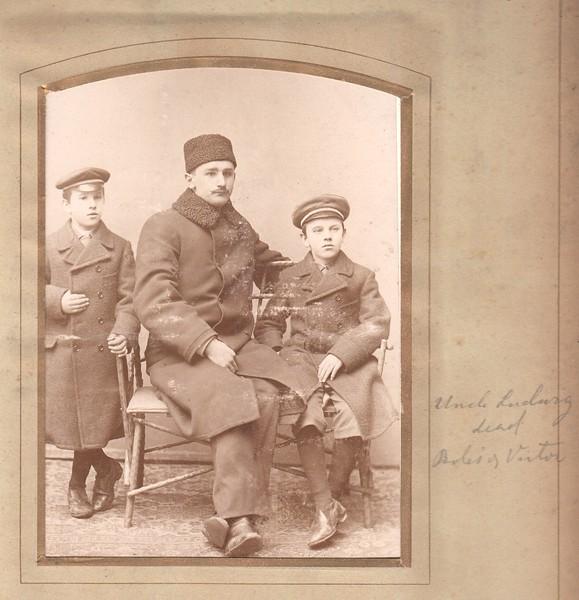Ludwig Stosik & sons Bolislaw and Victor