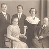 Josef Gulinski & family, Christmas 1914