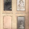 Album page, various unidentified photos