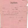 William Mueller, 1879 vaccination certificate