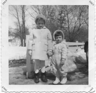 1963 - Lynn & Carol (sisters!)