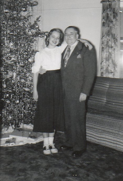 Gail and her Daddy, Walter Anderson
