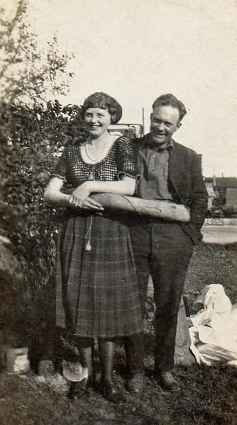 Cousin Ethel Loveless and a boy friend