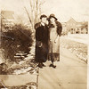 Elsie and Mrs. Robertson, taken at Wilmette in 1928