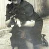 Ida Newmark Feldman & dog