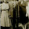 Ida Newmark Feldman, William Feldman &  daughter Gertrude Feldman