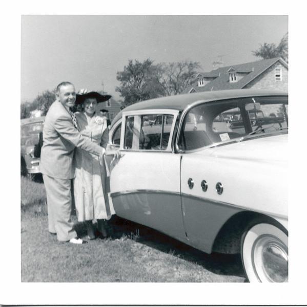 Homer and Mae (Bushey) Nolin, 1950s