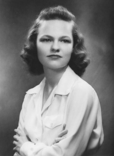 Rita Nolin, early 1940s