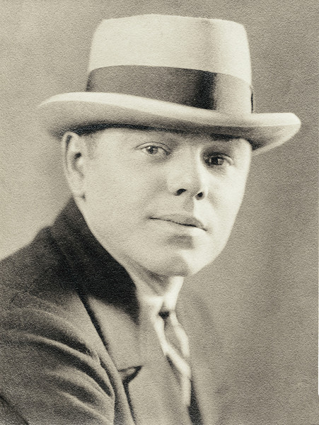 Homer Nolin, about 1920