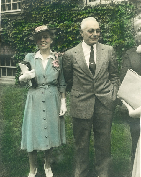 Annie (Boucher) and Arthur Nolin, about 1942