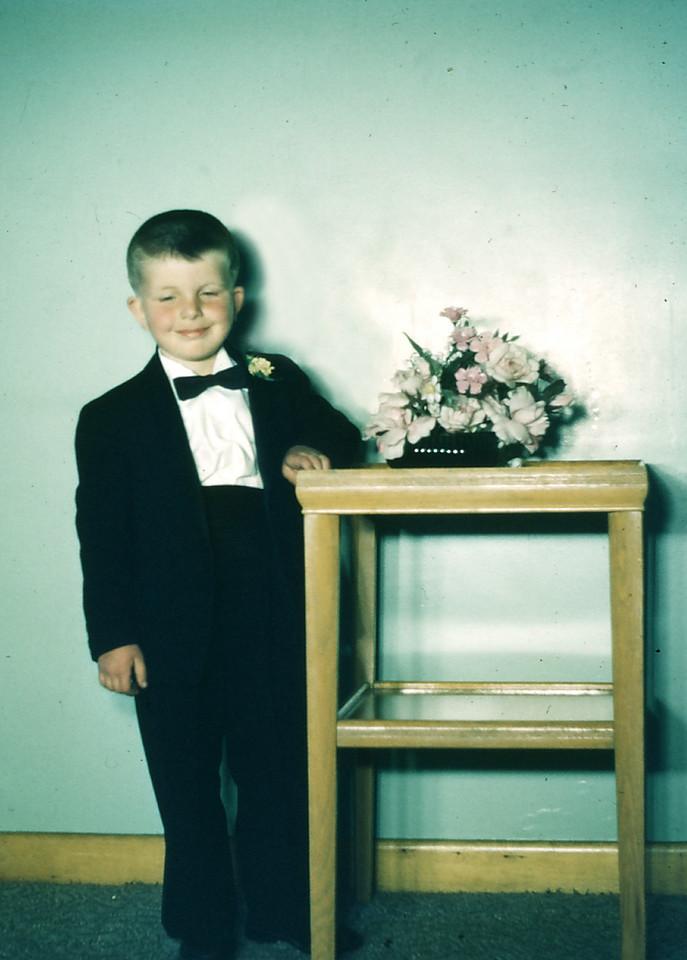 John Ellero's wedding, 1962