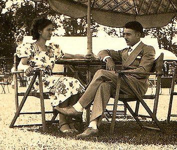 Adelia Ellero & Guy Lombardi, Niagra Falls, N.Y., 1938
