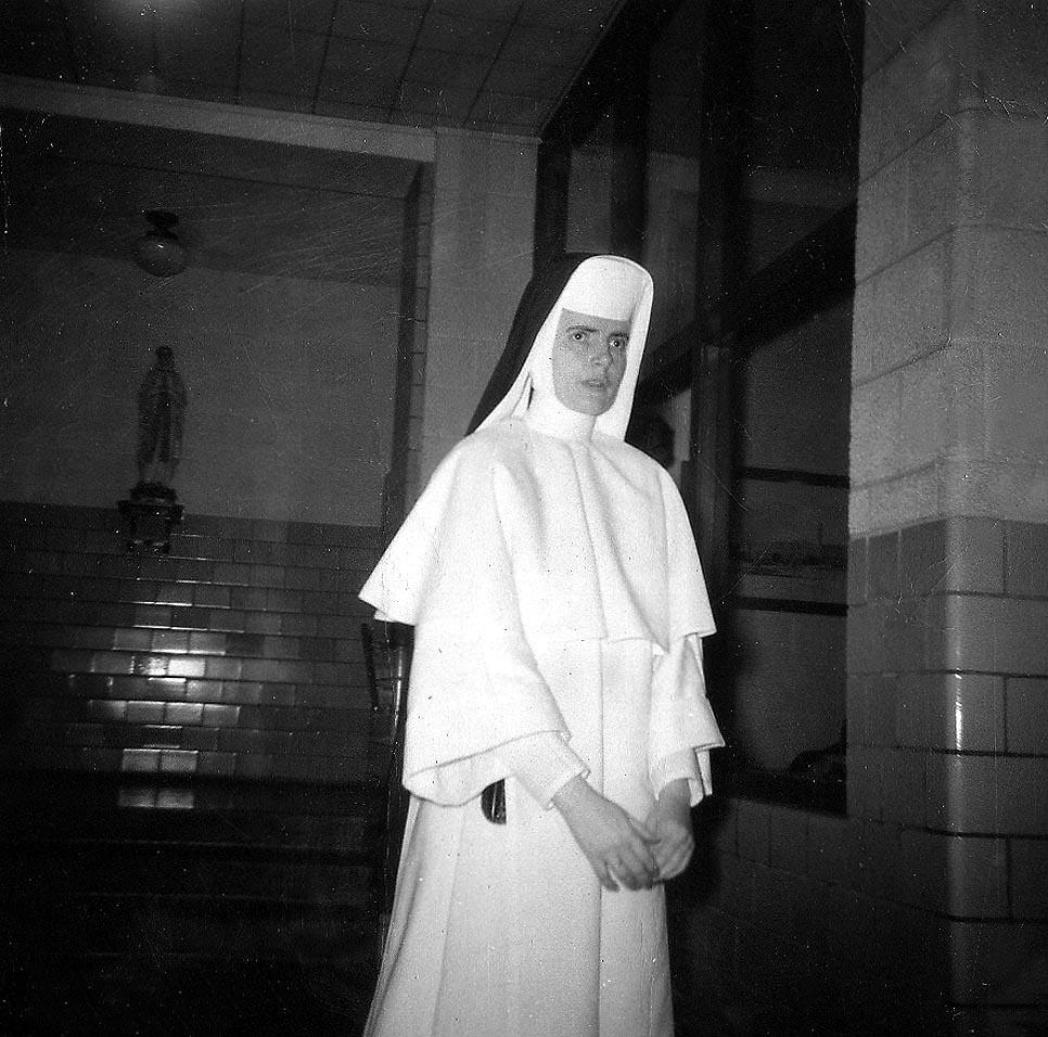 Sister Marie Henry.  Presentation School. 3/1959.