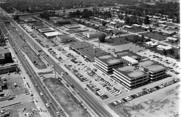 8 MILE SOUTHFIELD LOOKING WEST 1960'S