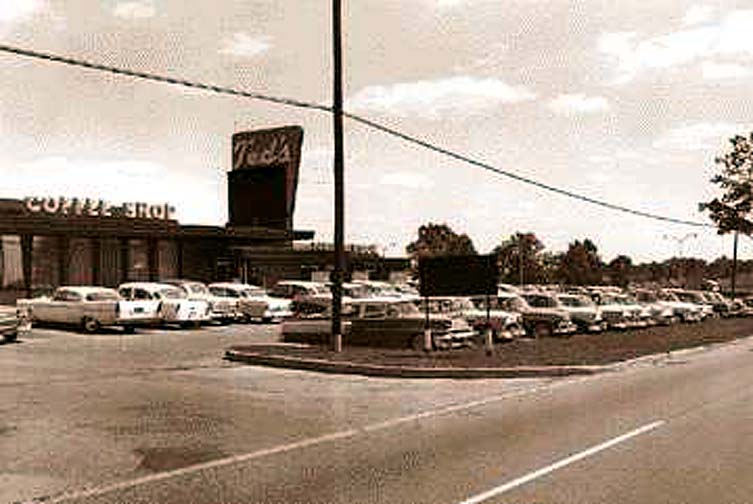 The legendary Ted's Drive-in on north Woodward. 1950's