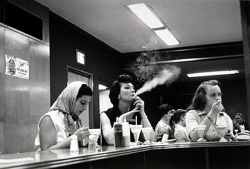 Sander's lunch counter, Detroit, 1950s