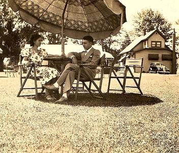 Adelia Ellero & Guy Lombardi, 1938