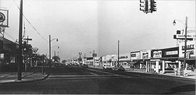 7 MILE & EVERGREEN  EARLY 1960'S