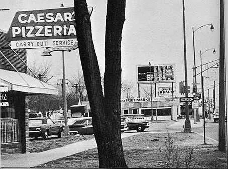 CAESER'S PIZZA  MID 1960'S