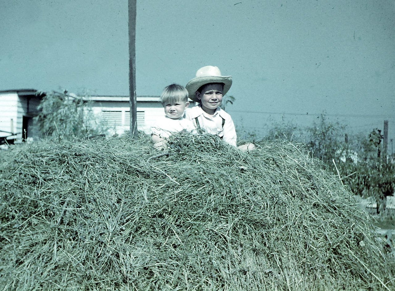 Nono Ellero's Farm, Summer 1947