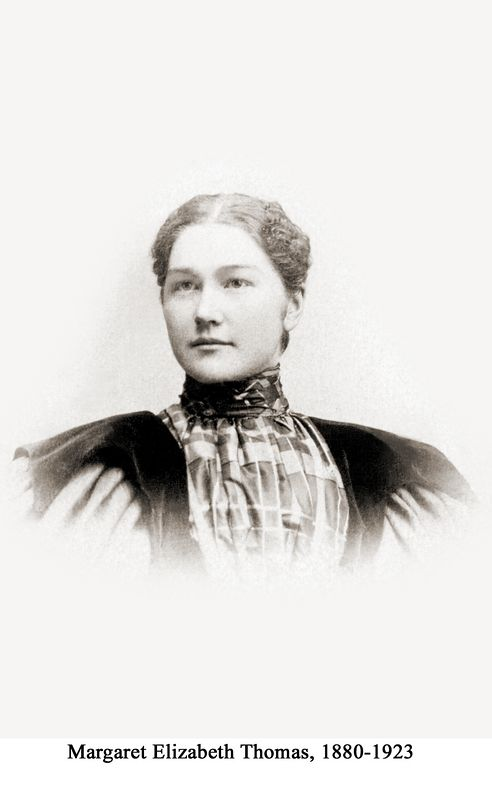 Younger daughter of Mary Ogle and Edward L. Thomas (1880-1923).