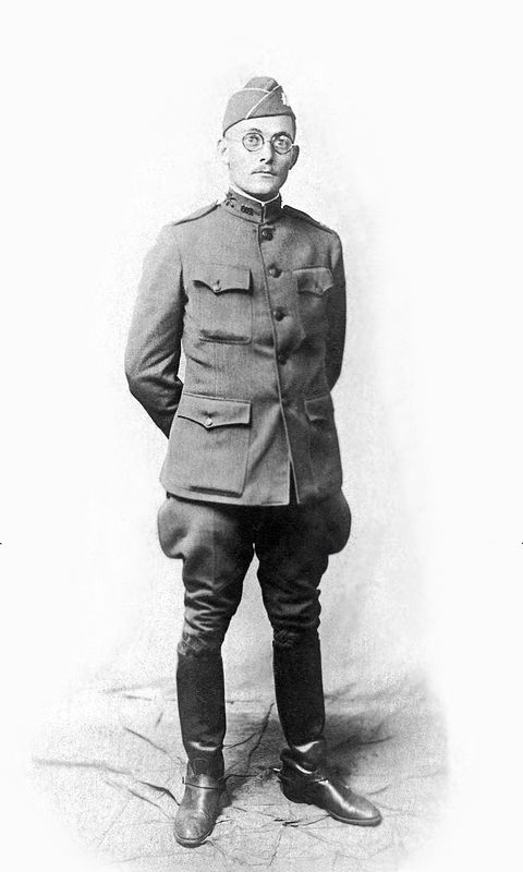 Captain Arthur Ogle in New York City about 1918.