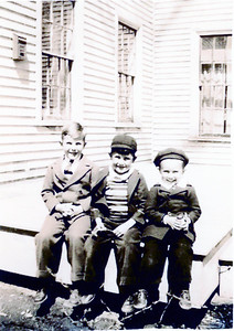 John Blackman Gil Merriam Robert Merriam 1941 25 Suffolk St Rockland ME