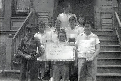 John Blackman holding sign
