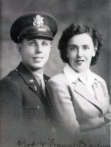 Bob & Francis Blackman 1942
