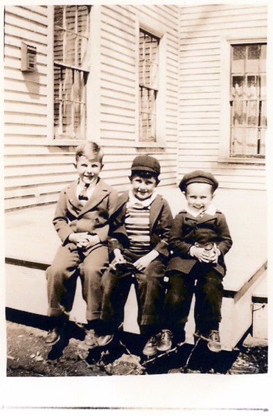 John Blackman Gil Merriam Robert Merriam 1941 25 Suffolk St Rockland ME 2