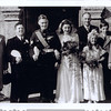 My parents wedding 1947 my mothers dress was made out of a parachute my mothers maiden name was Rendell her father was Charles Pitt Rendell and her mothers maiden name was Harvey
