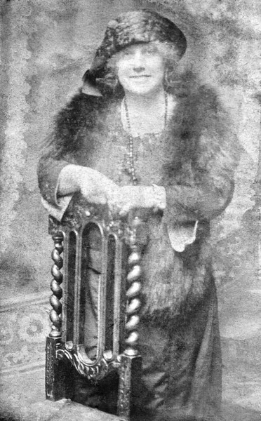 Annie Andrews Hunkin,my great grandmother apparently she was a very flamboyant character who adored her drop of gin